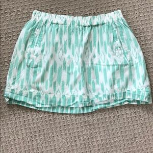 Adorable J. Crew cotton mini skirt, size M